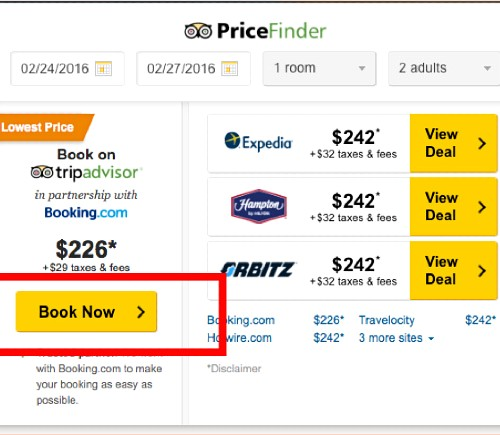 Instant Booking